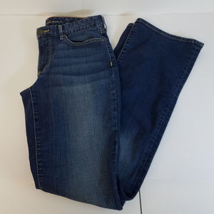 Eddie Bauer Curvy Bootcut Specially Dyed Jeans